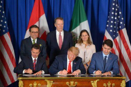 Trump se despide de Peña Nieto en el G20 con la firma del nuevo acuerdo comercial