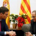 Moncloa confirma que Torra ofreció una propuesta con 21 puntos pero no le da validez política