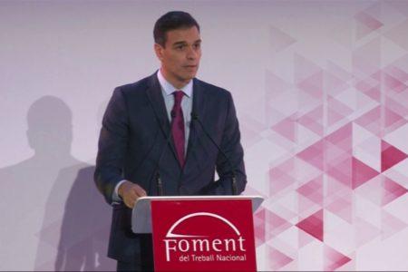 Sánchez defiende superar la «confrontación» en Cataluña y Torra le agradece que haya accedido a «hablar de todo»