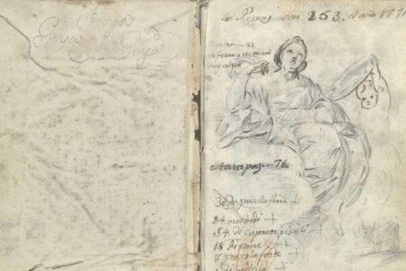 Goya 'pierde' seis dibujos en su catálogo razonado