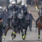 Detenidas 100 personas en Bruselas en una manifestación de ultraderecha