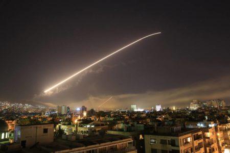 Israel vuelve a atacar objetivos iraníes en Siria tras el derribo de un avión ruso hace dos meses