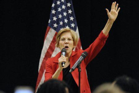 La senadora demócrata Elizabeth Warren anuncia su precandidatura para las presidenciales de 2020