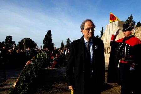 Torra replica al Rey: «En Cataluña no hay un problema de convivencia, hay un problema de democracia y de justicia»