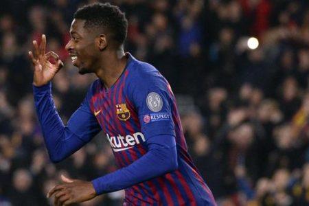 El Camp Nou perdona a Dembélé