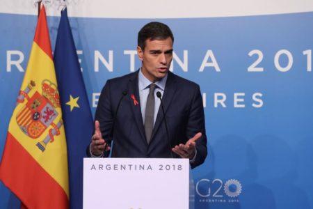 Pedro Sánchez no ve razones para la huelga de hambre y garantiza un juicio justo