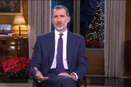 7,9 millones de espectadores para el mensaje de Navidad del Rey