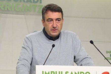 """El PNV responde al Rey que """"el mayor legado"""" de la Constitución sería """"que se reconociera a los vascos como nación"""""""