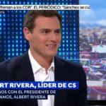 """Rivera urge a un nuevo 155 en Cataluña: """"No teníamos que haberlo levantado hasta que Torra no claudicara ante la democracia"""""""