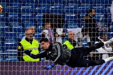 Courtois ataca a Simeone: «Mete palos al Madrid porque es el mejor equipo del mundo»