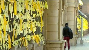 La Fiscalía no ve delito en que Mossos identificaran a quienes quitaban lazos amarillos