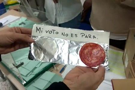 """Sorprenden los votos nulos """"creativos"""" del municipio gaditano de La Algaida"""