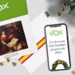 """VOX felicita la Navidad: """"Que el niñoJesúsque va a nacer en nuestros corazones nos ayude a no rendirnos jamás"""""""