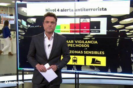España mantiene el nivel 4 de alerta antiterrorista pero intensifica las medidas de seguridad ante la Navidad