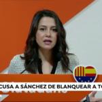 Arrimadas: «Ayer fue el día soñado por Torra con una Cataluña gobernada por CDR»