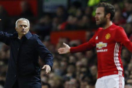 El mensaje de despedida de Juan Mata a Mourinho