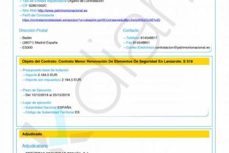 Sánchez refuerza la seguridad de La Mareta (Lanzarote) con 2.100 € para su descanso familiar