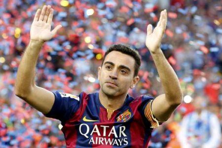 Xavi manda ánimos a los presos catalanes: «No desfallezcáis»