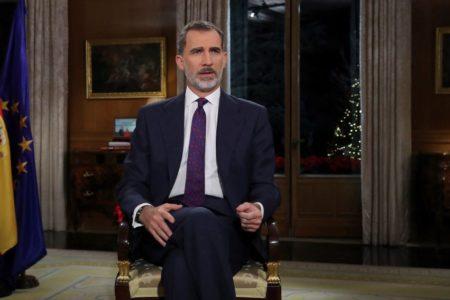 El Rey Felipe VI se dirige a «las generaciones más jóvenes» para recordarles que «la convivencia es el mayor patrimonio de los españoles»