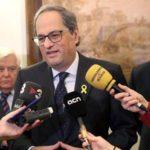 Intensa polémica por la propuesta de Torra de apostar por la «vía eslovena» para lograr la independencia de Cataluña