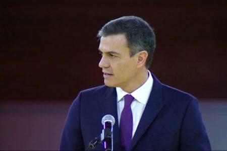 Pedro Sánchez apela al diálogo «sereno y sensato» para construir la cohesión de España dentro de la legalidad