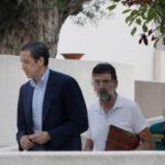 Zaplana queda ingresado en el hospital la Fe de Valencia al detectarse un empeoramiento por su leucemia