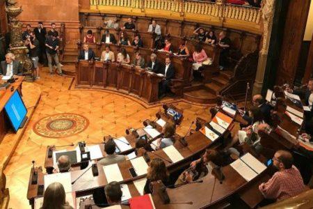 Barcelona reprueba la política económica y presupuestaria de Ada Colau