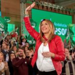 """Susana Díaz llama a impedir la """"involución"""" en Andalucía: """"Pido el voto para ser el dique de contención de la derecha"""""""