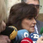 Carmen Calvo, sobre la reunión entre Sánchez y Torra: «Estamos trabajando en eso»