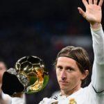 Modric ofrece el Balón de Oro al Bernabéu