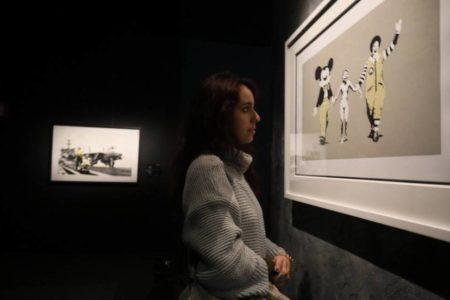 Banksy se pone a la venta en Madrid