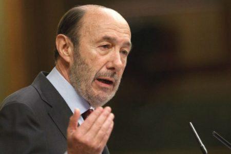 Rubalcaba rechaza ser el candidato por el PSOE para el Ayuntamiento de Madrid