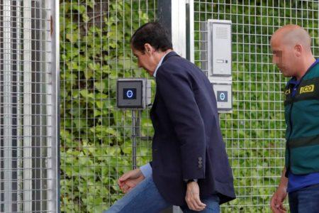 Eduardo Zaplana podría volver en las próximas horas a la cárcel