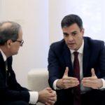 El Gobierno confirma que Sánchez y Torra se reunirán este jueves en Barcelona