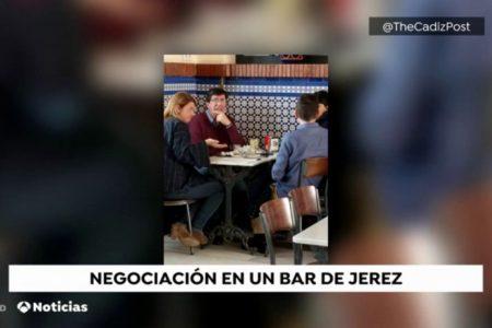Juan Marín y Teresa Rodríguez se reúnen en Jerez y negocian un acuerdo para formar la mesa del parlamento