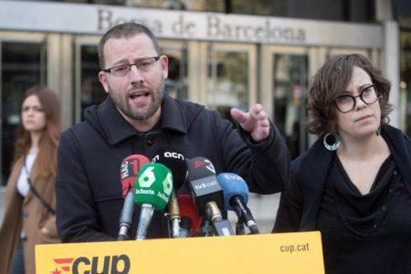 La CUP no concurrirá a las elecciones europeas