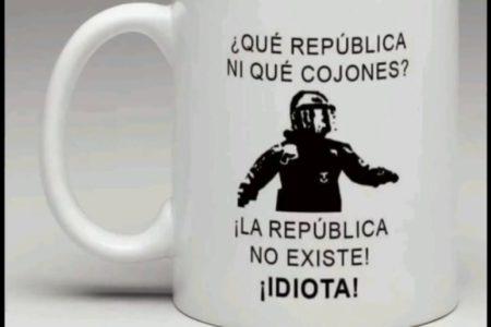 «La república no existe, idiota», se ha convertido en meme