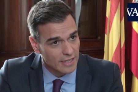 Pedro Sánchez reincide en que la situación ahora «no es igual a la que llevó a la aplicación del artículo 155»