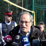 Torra visitará este martes al mediodía a los políticos presos de Lledoners