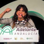 """Teresa Rodríguez, en el cierre de campaña: """"El resultado depende de cientos de votos, podemos ganar"""""""
