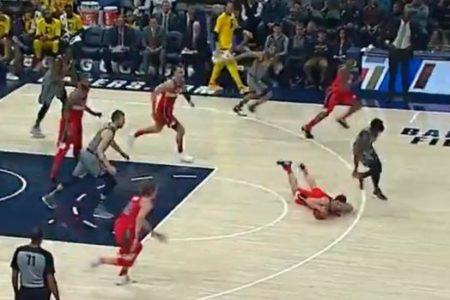 La jugada más estrambótica de la NBA