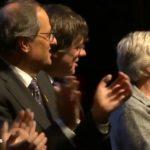 Puigdemont hace una llamamiento a la 'unidad' por el independentismo en el Consejo por la República en Bélgica