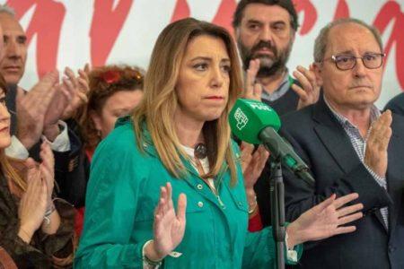 """Susana Díaz no desaprueba el 155 en Cataluña: """"Llevan demasiado tiempo saltándose las normas"""""""