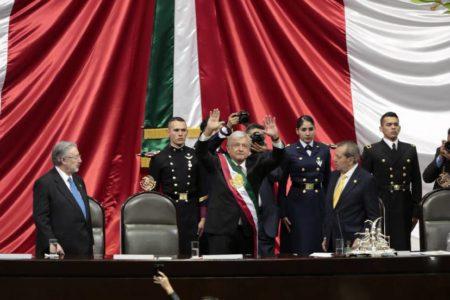 La toma de posesión de López Obrador como presidente de México, en vivo y en directo