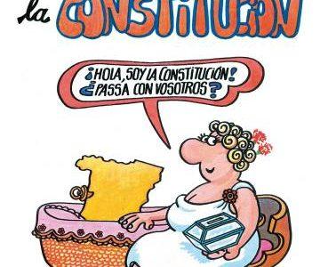 La Constitución, según Concha, Mariano… ¡y Forges!