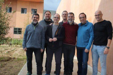 Los presos independentistas 'europeízan' su protesta mediante cartas a 40 líderes