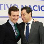 Casado advierte a Ciudadanos de que cualquier intento para no apoyar a Moreno tendrá una «repercusión electoral»