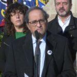 Torra anuncia que entregó a Sánchez una propuesta de 21 puntos para una mediación