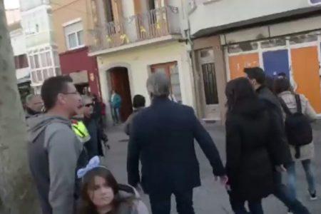 Arrimadas, increpada en las calles de Premià de Mar durante una visita