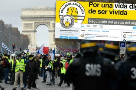 Surge en España el movimiento de 'chalecos amarillos' que ya ha dejado 10 muertos en Francia